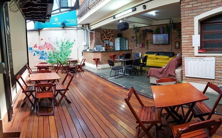 Smart Place Coworking Lounge Área de Convivência Auditório