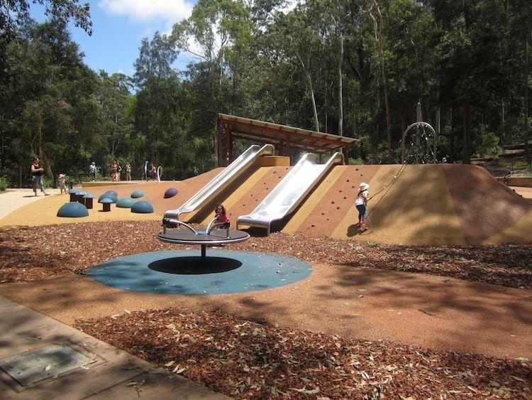 Black Duck Playground at Blackbutt Reserve