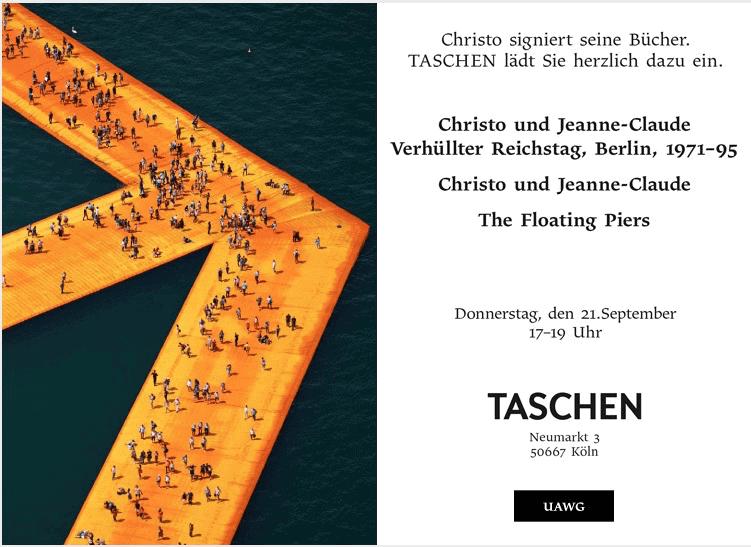 Einladung TASCHEN Store Köln