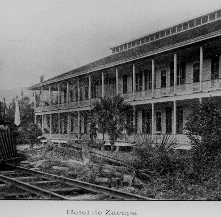 Hotel de la antigua estación de Zacapa