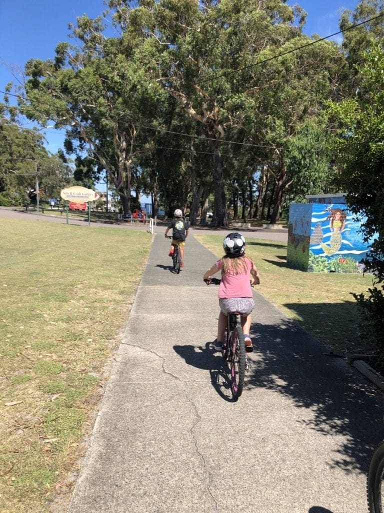 BIike Ride Nelson Bay