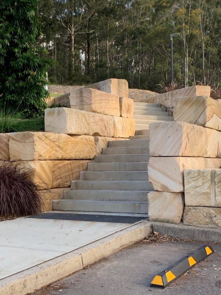 Bridges Hill Playground Cessnock Sandstone