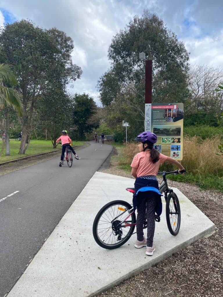 Fernleigh Track Cycle Path Newcastle