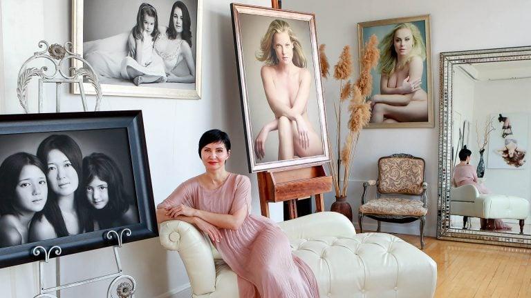 julia juliati best boudoir nude portrait photographer new york