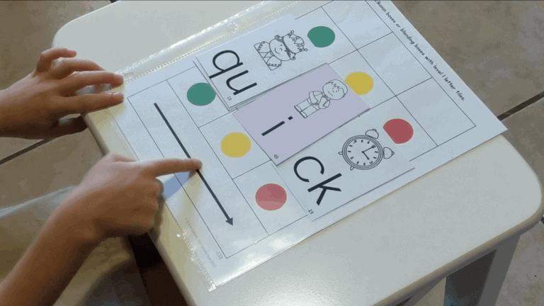 Elkonin Boxes For Reading Intervention