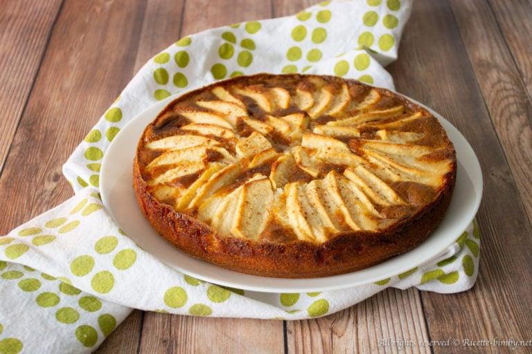 Torta di mele senza glutine Bimby
