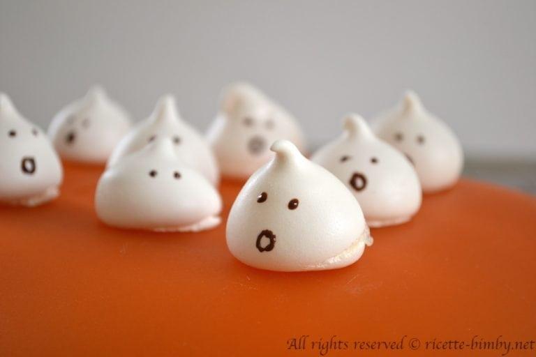 Meringhe di Halloween Bimby