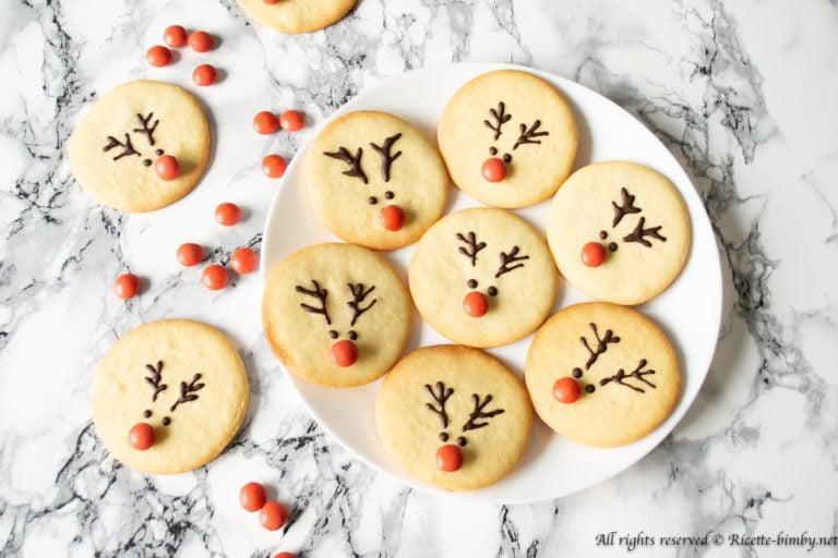 Biscotti di Natale a forma di renna Bimby