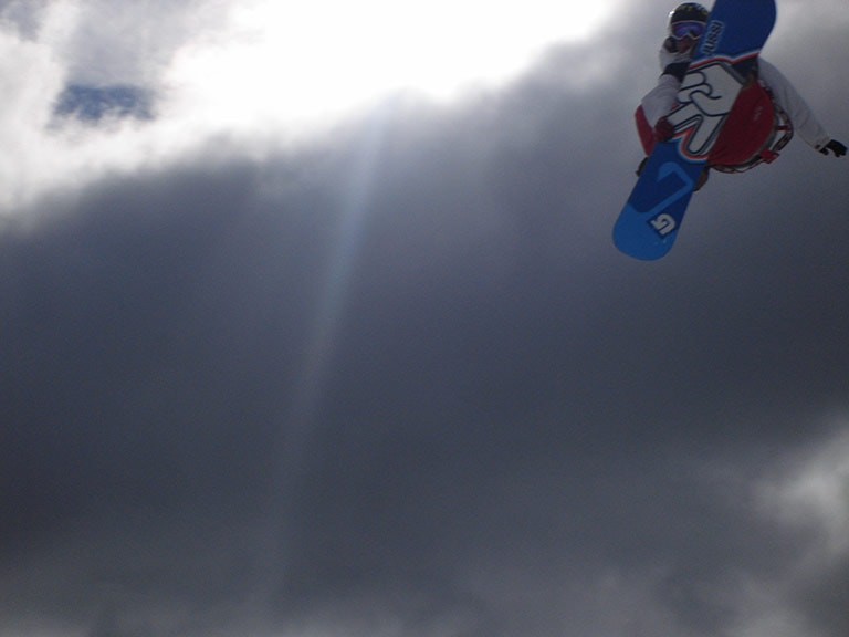 how to be a snowsports photographer at the Burton Open in New Zealand