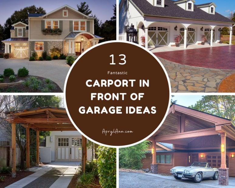 13 Fantastic Carport In Front Of Garage Ideas