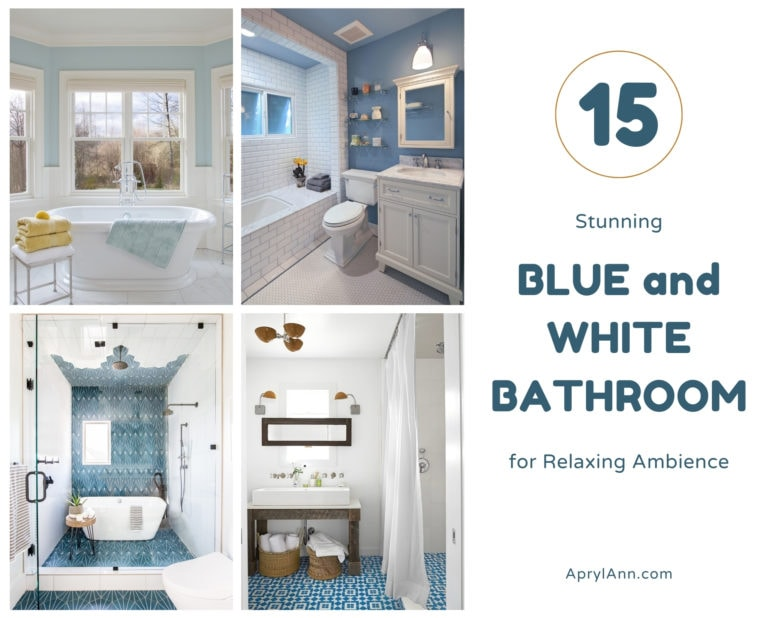 15 Stunning Blue And White Bathroom For Relaxing Ambience