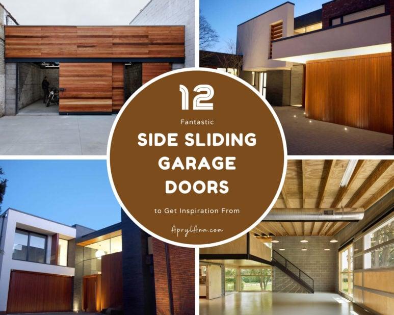 12 Fantastic Side Sliding Garage Doors To Get Inspiration From