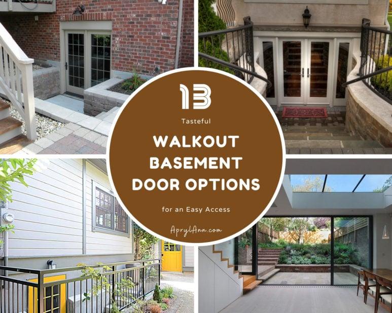 13 Tasteful Walkout Basement Door Options For An Easy Access