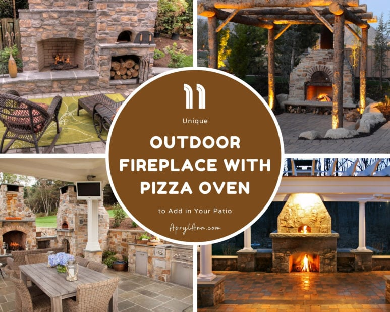 11 Unique Outdoor Fireplace With Pizza Oven