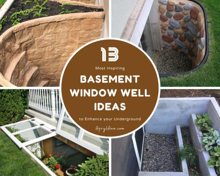 13 Most Inspiring Basement Window Well Ideas