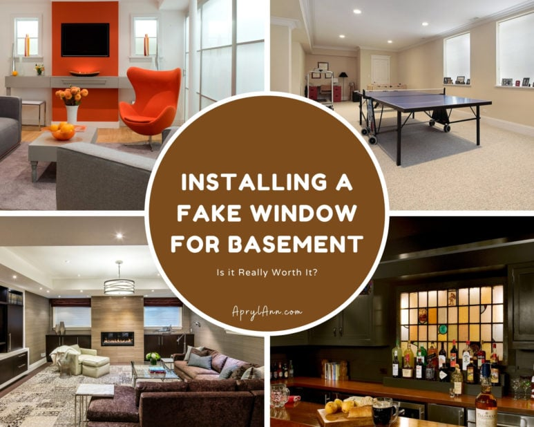 Installing A Fake Window For Basement: Is It Really Worth It?