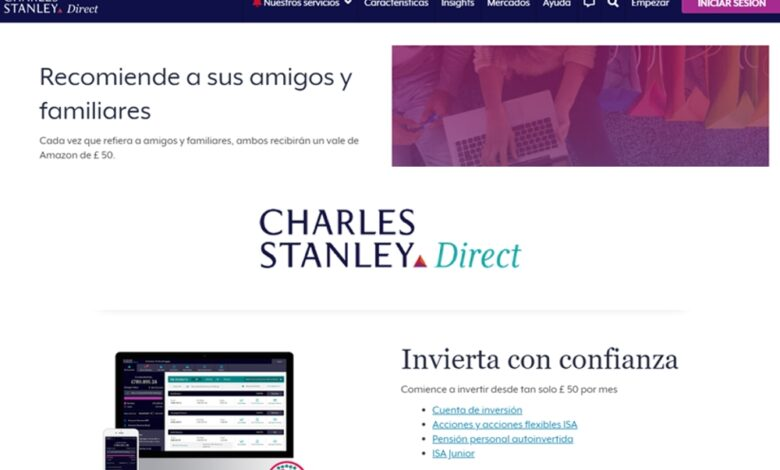 Charles Stanley Direct