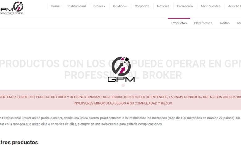 GPM Professional Broker