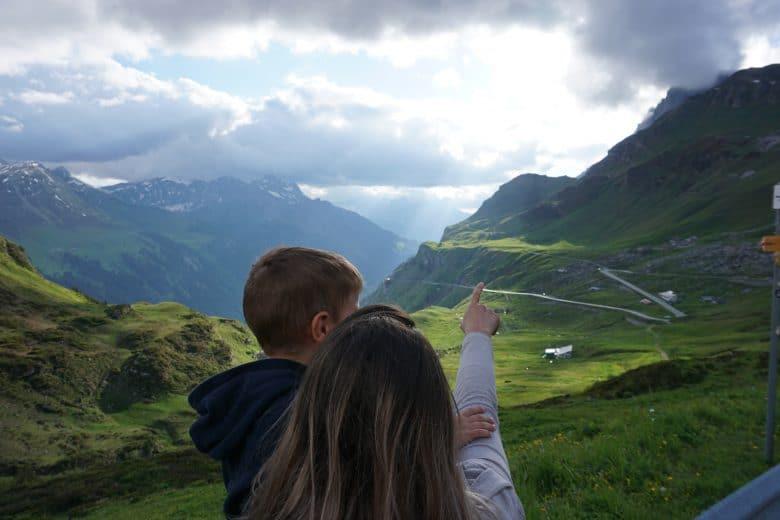 Alpen-Passen mit der Familie