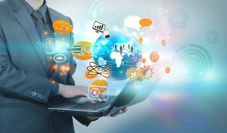 صورة توضيحية للتسويق الإلكتروني - التسويق الرقمي