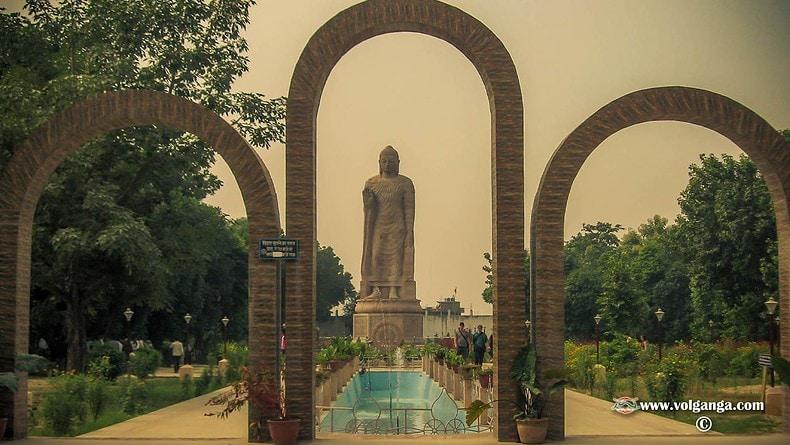 The highest Buddha statue at Sarnath