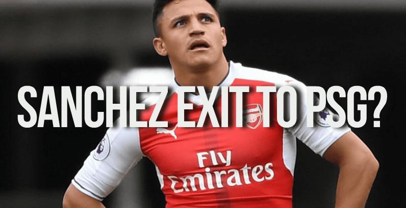 Alexis Sanchez News Striker heading to PSG