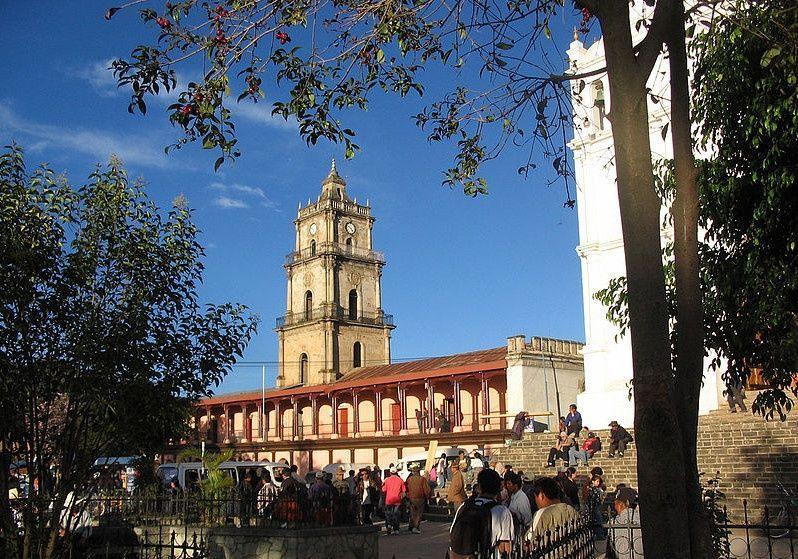 Palacio de Gobernación en Santa Cruz del Quiché
