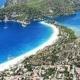 Oludeniz in Turkey and the beautiful blue lagoon