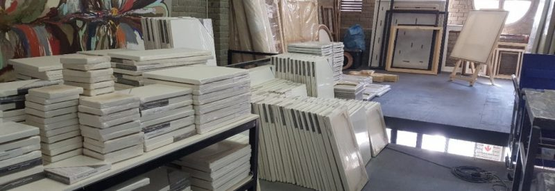 Offcut canvases