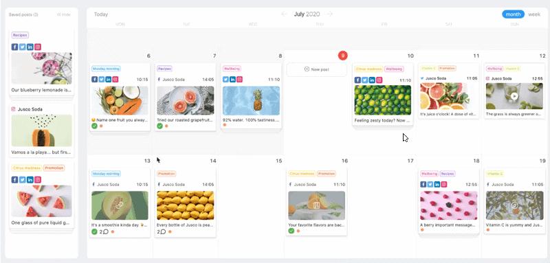 Planable - social media calendar tool