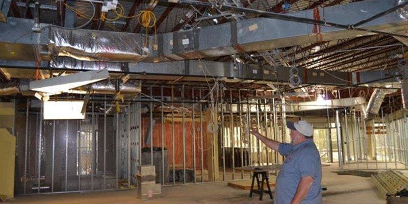 Liebert Units & VAV boxes Commercial Charleston CSI office
