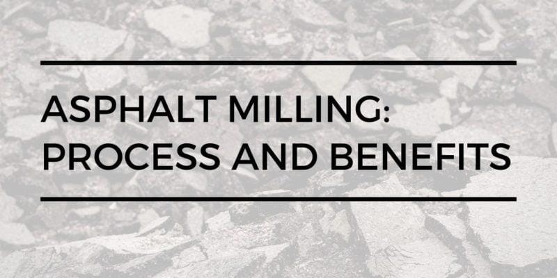 asphalt milling process | limitless golden construction