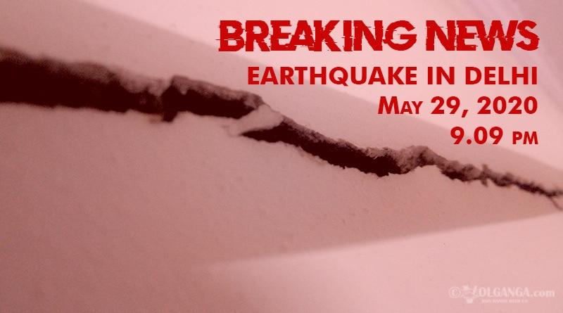 Earthquake tremors shake Delhi again