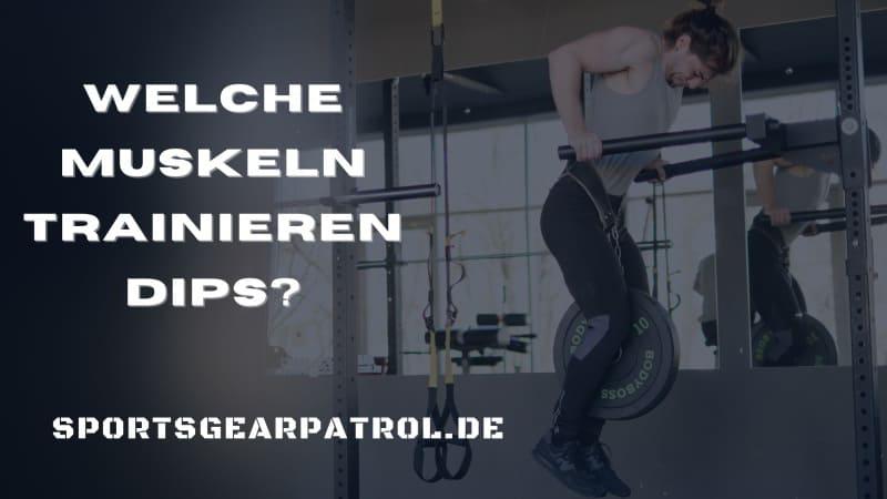 Bild Welche Muskeln trainieren Dips