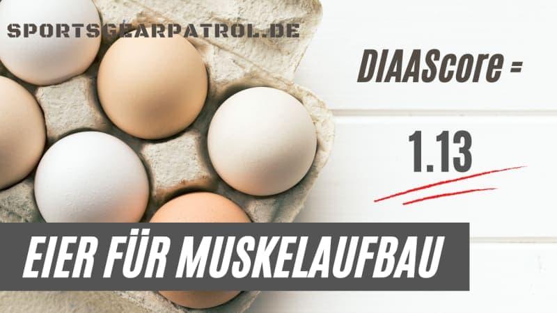 Eier für Muskelaufbau