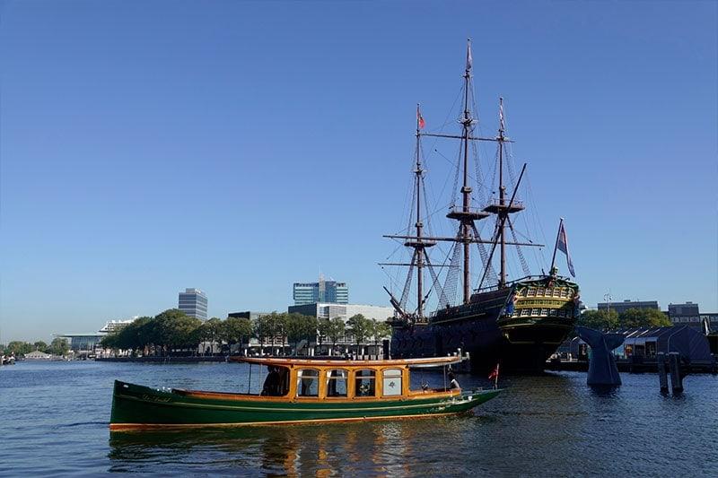 Salonboot De Amstel 4