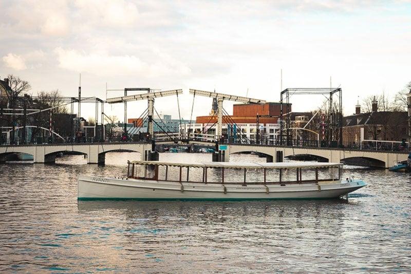 Salonboot huren Amsterdam doe je bij Rederij Prinsengracht