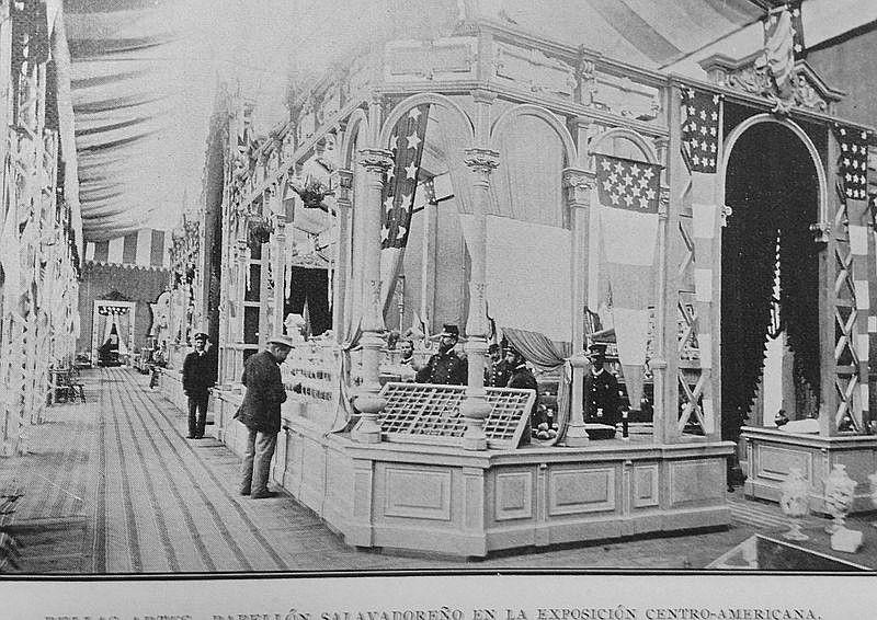 Pabellón de El Salvador en la Exposición Centroamericana del 1897