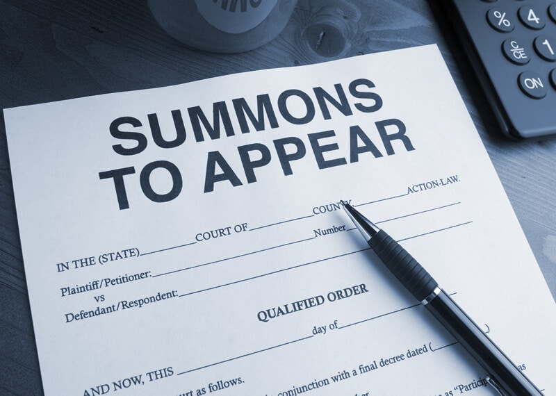 Summons to Appear. process service information for New York at Subpoena Served. The fastest process server company in New York, New Jersey, and Pennsylvania