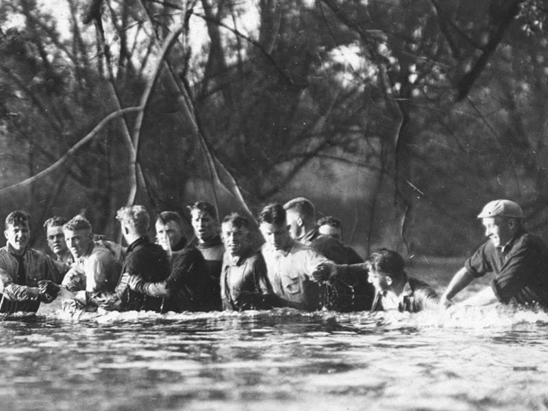 1916 Spring Games Huron River