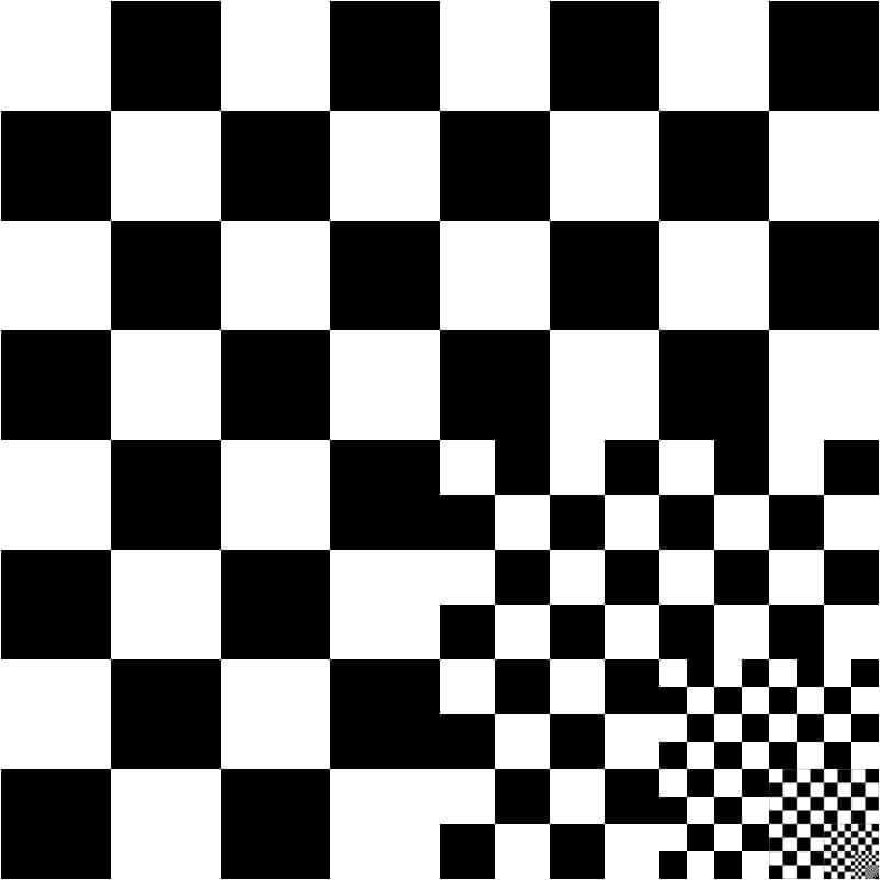 Unendliches Schachbrett