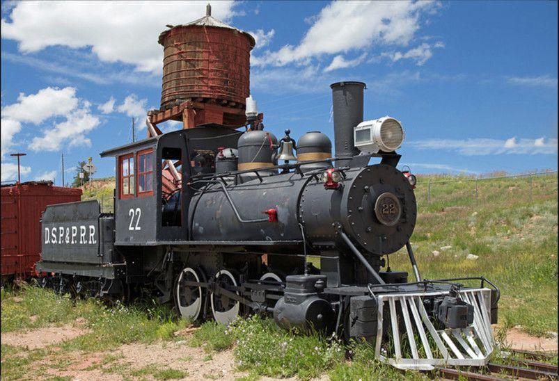 Locomotora DSP&PRR 22 en Colorado