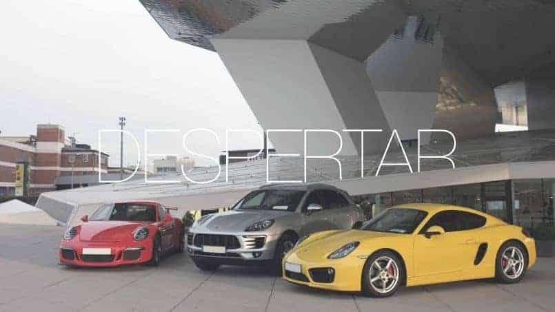 Despertar el Trailer - Stuttgart Porsche Museum con Porsche 911 GT3, Porsche Macan y Porsche Cayman 718