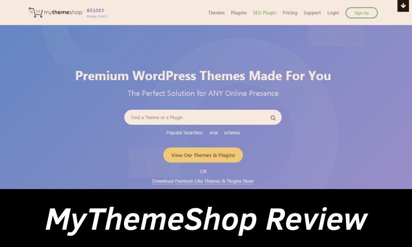 MyThemeShop Review