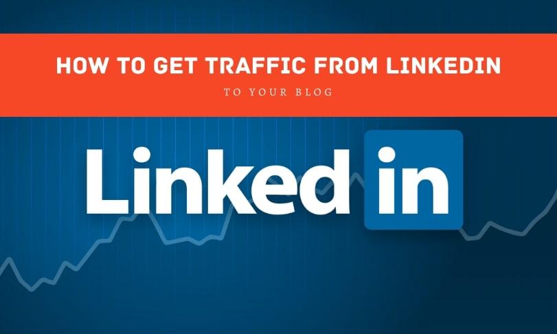 LinkedIn Traffic to Blog