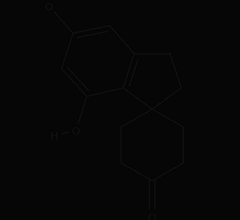 Cannabispiran chemical structure