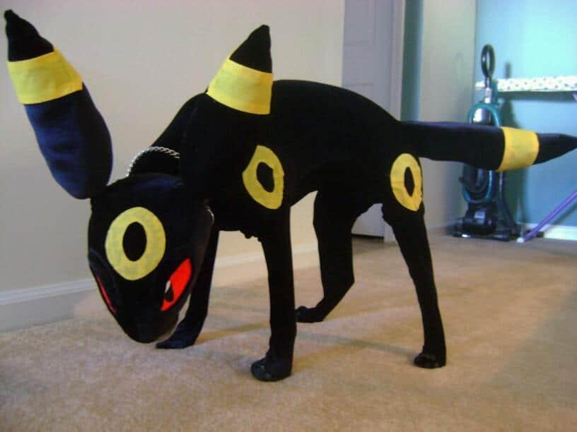 Umbreon Dog Costume