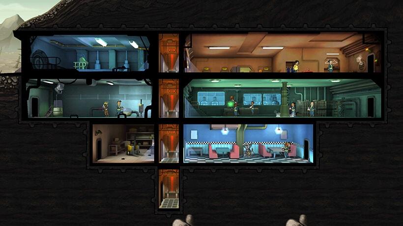 Fallout Shelter Starting Vault
