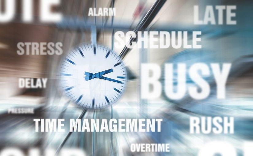Werkstress: het is de 'Week van de werkstress'.