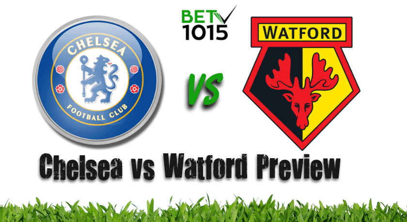 Chelsea vs Watford Preview and Prediction